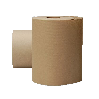 EcoSoft Natural Brown Non-perforated 350' Roll Towels