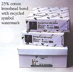 "8½x11"" 24 lb. Cotton Bond Letterhead"