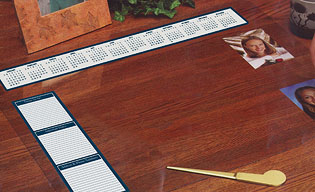 HOD886 See-thru Desk Pad