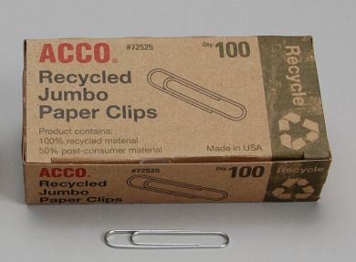 Recycled Steel Paper Clips