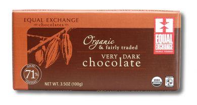 Very Dark Organic Chocolate