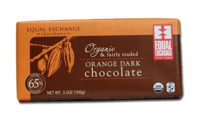 Orange Dark Organic Chocolate