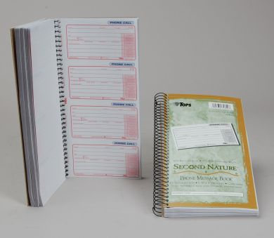 Carbonless Phone Message Books