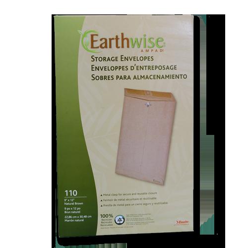 "9X12"" EARTHWISE Envirotec Clasp Envelopes"