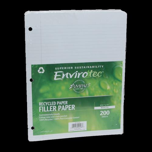 100% PCW Notebook Filler Paper