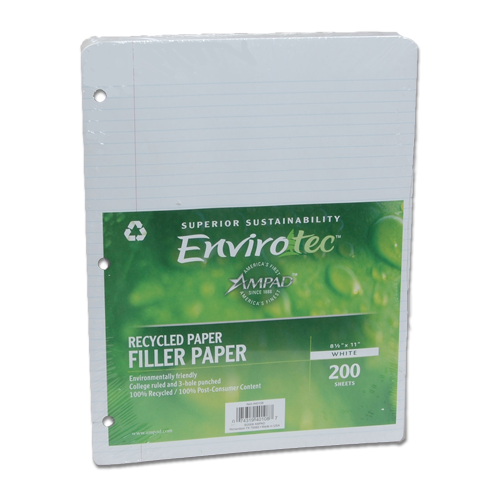 100% PCW Notebook Filler Paper