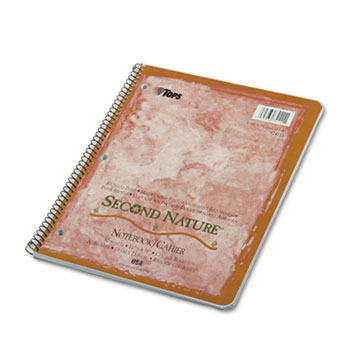 100% Recycled Single Subject Notebooks 6/pk
