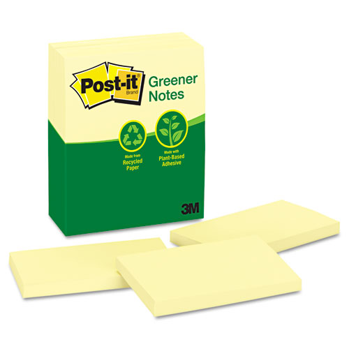 """Post-It 3x5"""" Recycled Paper Notes"""