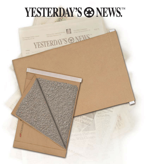 Yesterday's News/Jiffy Padded Self-seal Mailers