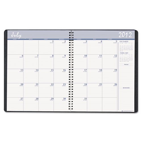265-02 Academic Monthly Planner