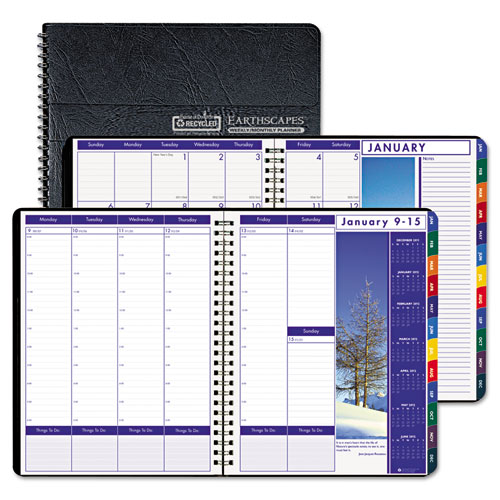 HOD273 Weekly/Monthly Planner Tabbed
