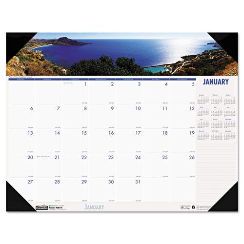 HOD1786 Compact Earthscape Desk Pad - Coastlines