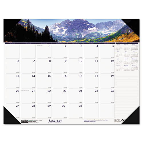 HOD1766 Compact Mountains Desk Pad