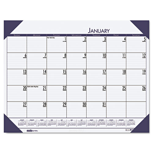HOD1246-40 Compact Desk Pad blue