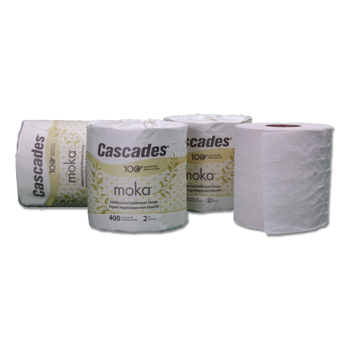 Moka Natural Unbleached Recycled Toilet Tissue
