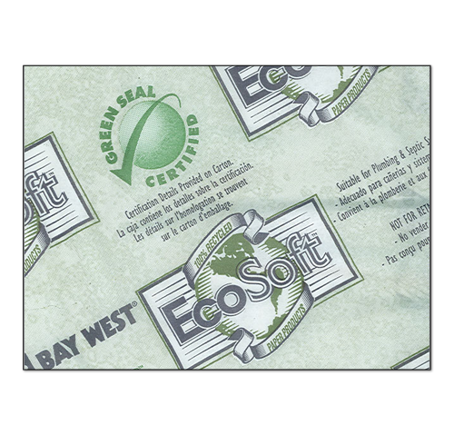 EcoSoft 100% Recycled Toilet Tissue