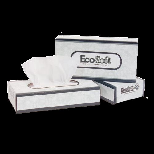 EcoSoft Facial Tissue