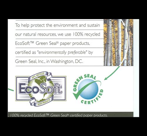 EcoSoft Natural Brown Singlefold Towels