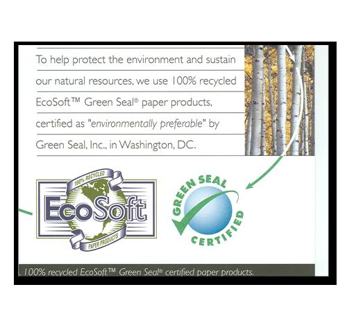 EcoSoft Jumbo Dispenser Toilet Tissue