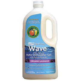 Earth Friendly Wave Dishwasher Gel