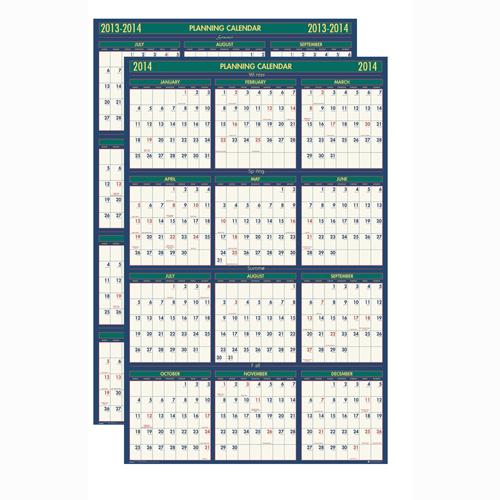 HOD390 Four Seasons Reversible Planner