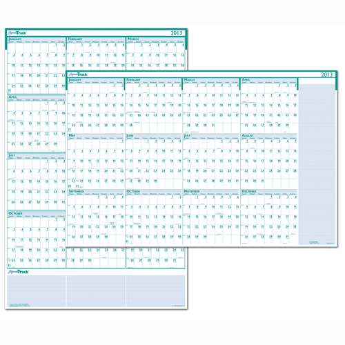 HOD392 Express Track Yearly Laminated Planner