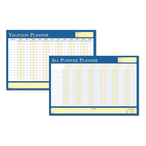 HOD639 All Purpose Laminated Vacation Planner