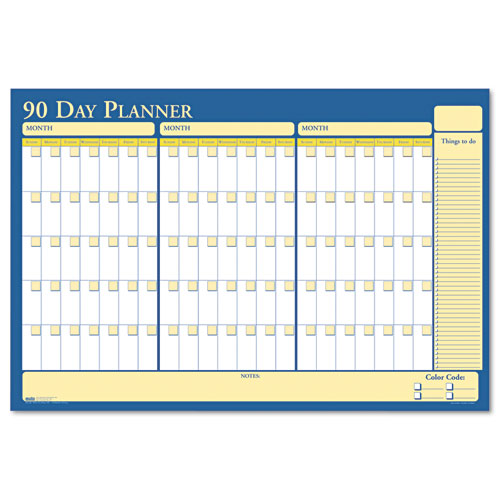 HOD637 90/120-Day Laminated Planner