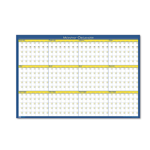 HOD642 12-month Non-dated Laminated Organizer