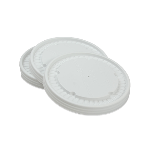 Conventional plastic lids for 8oz food container
