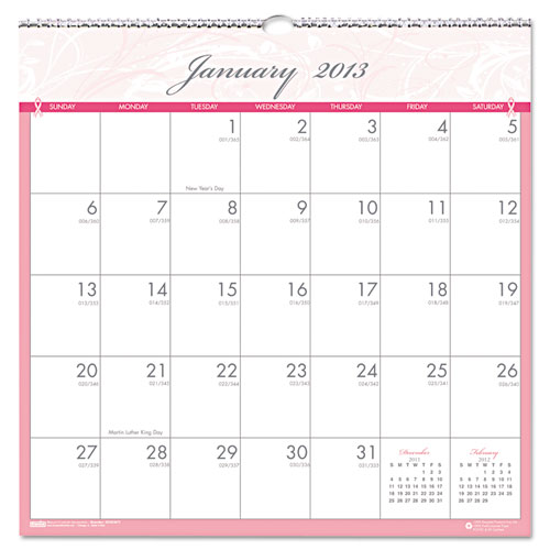 HOD 3671 BCA Wall Calendar
