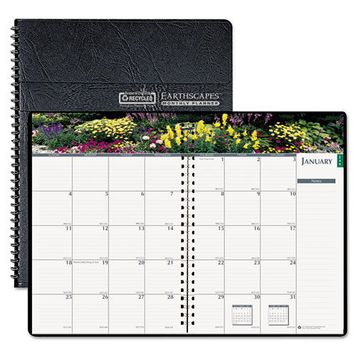 HOD264632 Earthscapes Monthly Planner - Gardens of the World