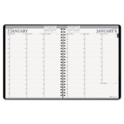 HOD272-92 Professional Weekly Planner