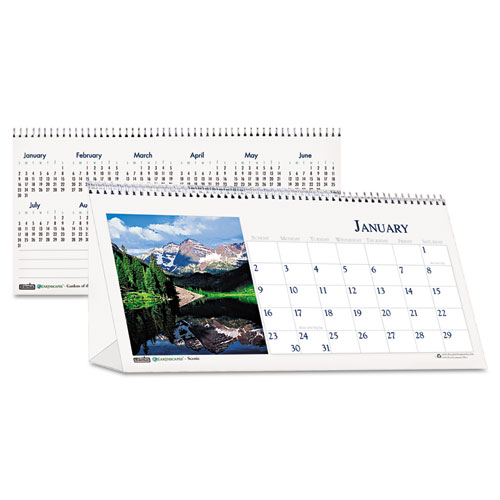 HOD3649 Desk Top Tent Calendars - Scenic