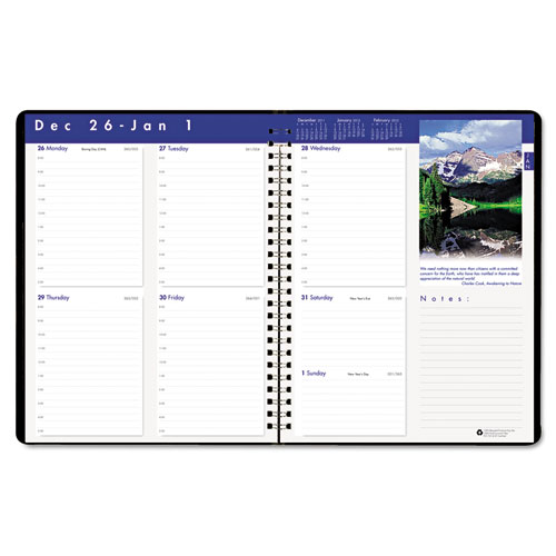 HOD279-92 Executive Series Weekly Planner