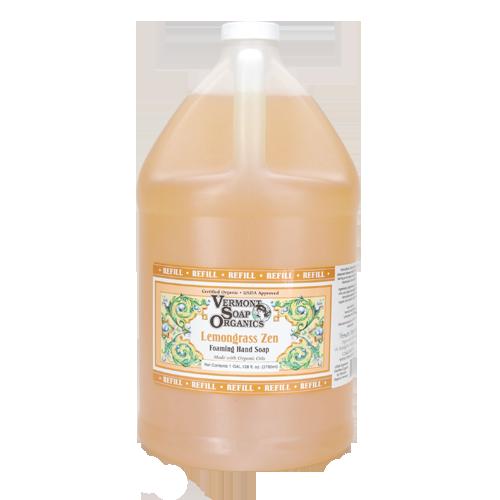 Vermont Foam Soap - Bulk Refill - Lavender or Lemongrass Zen