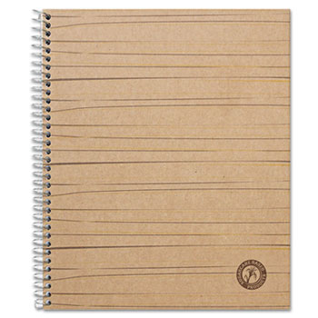 Sugarcane Based Notebook, College Rule, 11 x 8-1/2, White, 100 Sheets/Pad