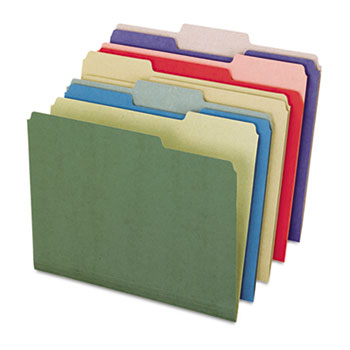 Recycled Color File Folders