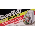 Sure-Tuff Clear Recycling Bags