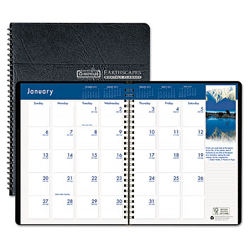 HOD264-02 Earthscapes Monthly Planner