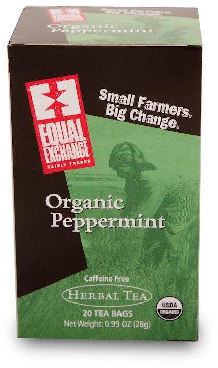 Fair Trade Organic Peppermint Tea