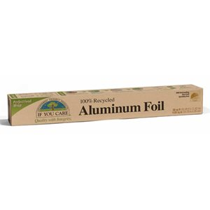 100% Recycled Aluminum Foil