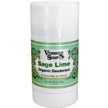 Organic Deodorant by Vermont Soap