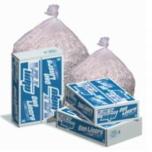 60 Gallon Clear Recycling Bags