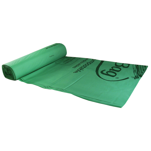 BioBag 64 gal compostable bags made from plants