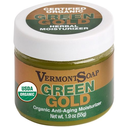 Green Gold Herbal Moisturizer by Vermont Soap