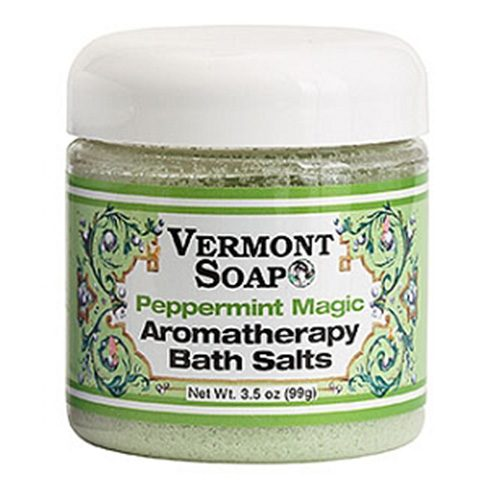 Aromatherapy Bath Salts - Peppermint Magic by Vermont Soap