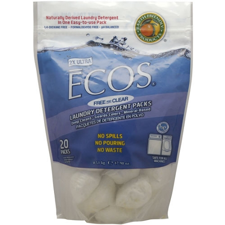 Earth Friendly Laundry Detergent Packs