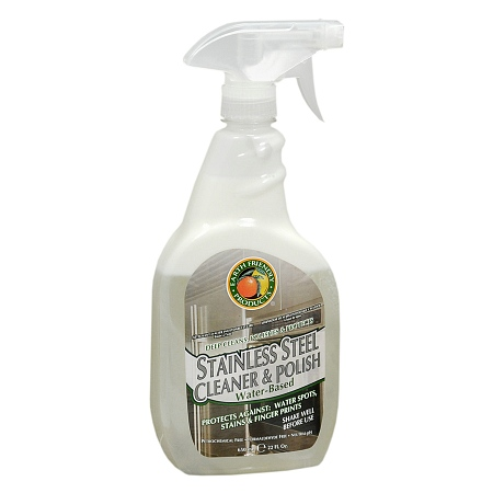 Earth Friendly Stainless Steel Cleaner