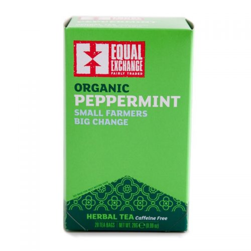 Fair Trade Organic Peppermint Tea